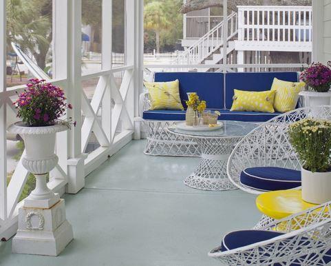 欧式阳台鱼池设计图展示